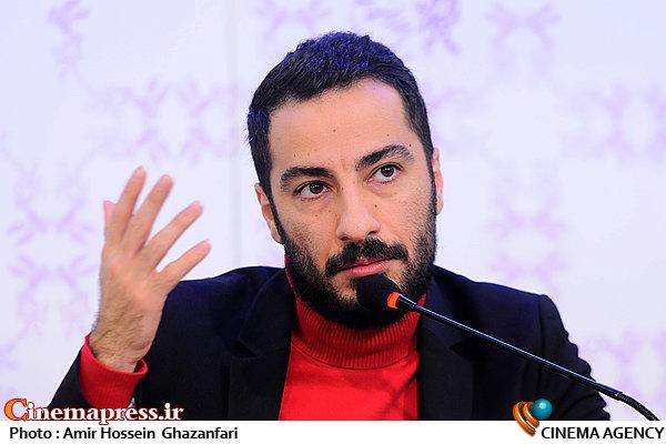 نوید محمدزاده در نشست خبری فیلم سینمایی«خشم و هیاهو»