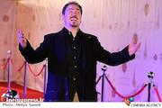 خشایار اعتمادی در اختتامیه سیویکمین جشنواره موسیقی فجر