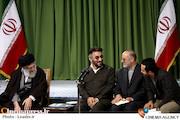 دیدار فرج الله سلحشور با مقام معظم رهبری