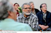 بهروز افخمی در مراسم روز درختکاری در خانه سینما