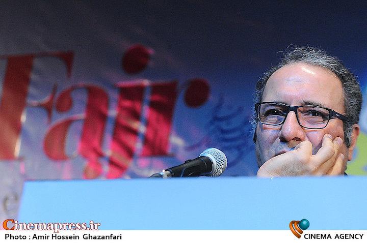 رضا میرکریمی در نشست رسانهای سیوچهارمین جشنواره جهانی فیلم فجر