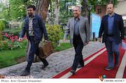 حسین مسافر آستانه در دیدار نوروزی هنرمندان