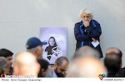 کامران ملکی در تشییع پیکر زنده یاد«ثریا حکمت»