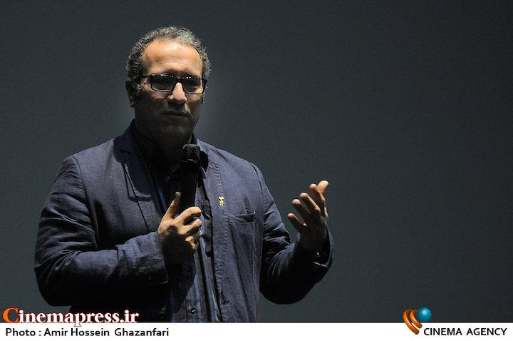 سیدرضا میرکریمی در آغاز سی و چهارمین جشنواره جهانی فیلم فجر