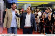 امیرحسین رستمی در جشن اختتامیه سریال«شهرزاد»