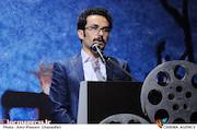 محسن مختاری فر در افتتاحیه سیزدهمین جشنواره فیلم کوتاه دانشجویی نهال