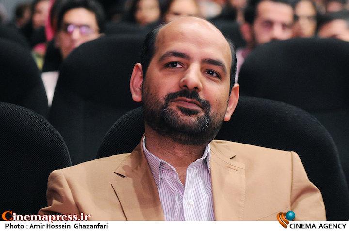 شهاب اسفندیاری در اختتامیه سیزدهمین جشنواره فیلم کوتاه نهال