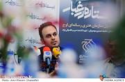 محمدحسین مهدویان در نشست خبری فیلم سینمایی ایستاده در غبار
