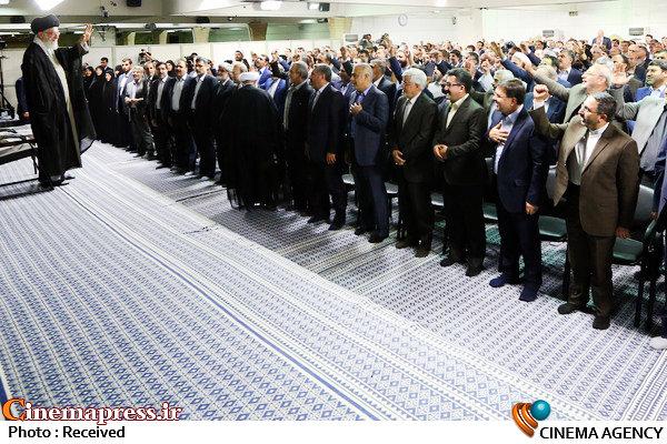 مقام معظم رهبری در جمع نمایندگان مجلس