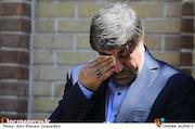 علی جنتی در تشییع پیکر مرحوم حمید سبزواری