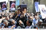 تشییع پیکر مرحوم حمید سبزواری
