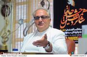 علی معلم در نشست مطبوعاتی شانزدهمین جشن حافظ