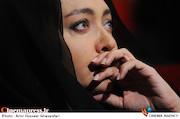 نیکی کریمی در مجلس ترحیم مرحوم عباس کیارستمی