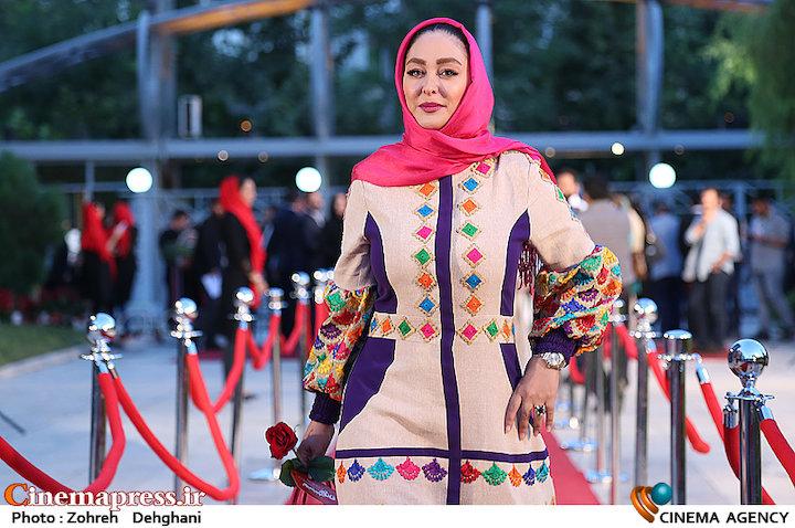 الهام حمیدی در شانزدهمین جشن حافظ