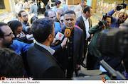حجت اله ایوبی در مراسم امحای سی دی های غیرمجاز