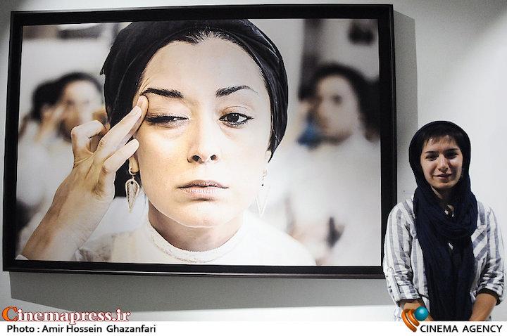 نوشین جعفری در عکاس فیلم سینمایی«لانتوری»
