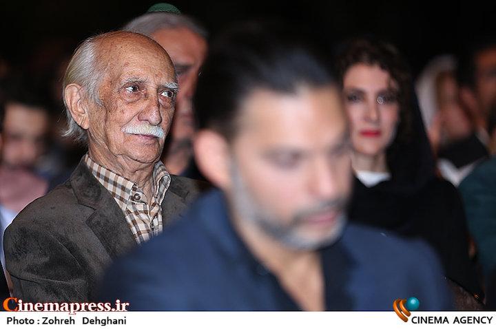 داریوش اسدزاده در هجدهمین جشن خانه سینما
