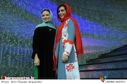 ماه چهره خلیلی و گلاره عباسی در اکران خصوصی فیلم سینمایی«هیهات»