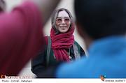 افسانه بایگان در دهمین جشن انجمن منتقدان و نویسندگان سینمایی ایران