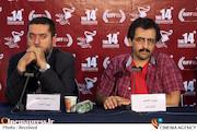بهروز شعیبی و سیدمحمود رضوی در چهاردهمین جشنواره فیلم مقاومت