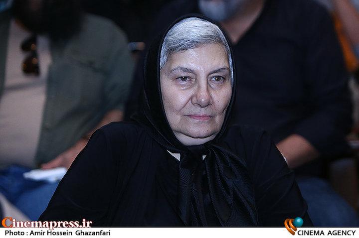 فریده سپاه منصور در یادبود چهلمین روز درگذشت داوود رشیدی