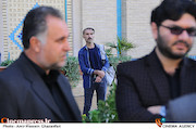 امیر آتشانی در تشییع پیکر مرحوم سعید کشنفلاح