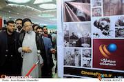 حجت الاسلام علوی در نمایشگاه مطبوعات