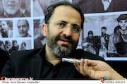 علی اصغر خسروی در بیست و دومین نمایشگاه مطبوعات