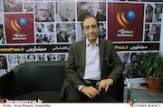 محمدرضا حیاتی گوینده در بیست و دومین نمایشگاه مطبوعات