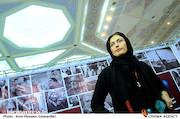 لادن مستوفی در بیست و دومین نمایشگاه مطبوعات