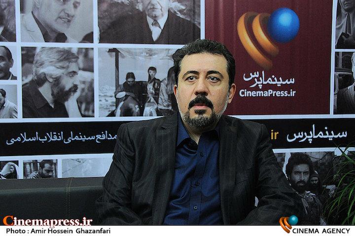 محمد مهدی تندگویان در بیست و دومین نمایشگاه مطبوعات