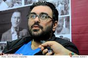 روزبه حسینی کارگر در بیست و دومین نمایشگاه مطبوعات