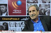 محمود بصیری در بیست و دومین نمایشگاه مطبوعات