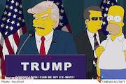 ترامپ-سیمسونها