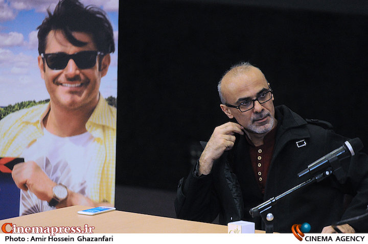 قربان محمدپور در نشست خبری فیلم سینمایی «سلام بمبئی»