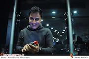 داریوش فرضیایی در اکران خصوصی فیلم سینمایی سلام بمبئی
