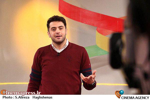 علی ضیا در برنامه تلویزیونی فرمول یک
