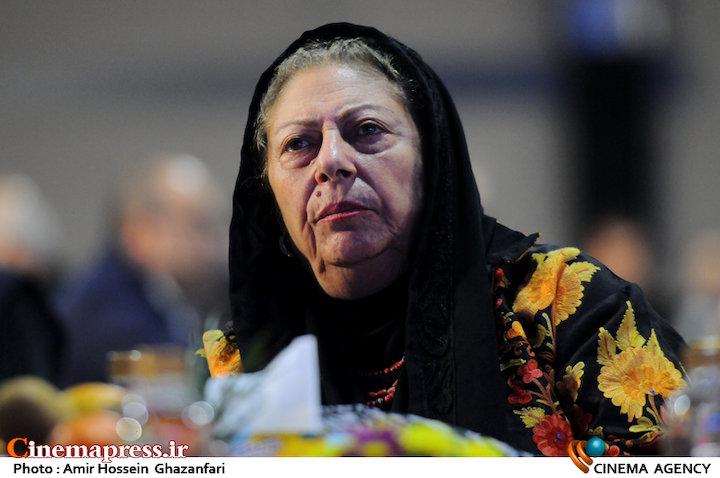 ثریا قاسمی در افتتاحیه چهارمین جشنواره بینالمللی فیلم یاس