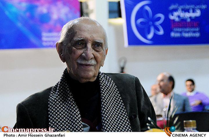 داریوش اسدزاده در افتتاحیه چهارمین جشنواره بینالمللی فیلم یاس