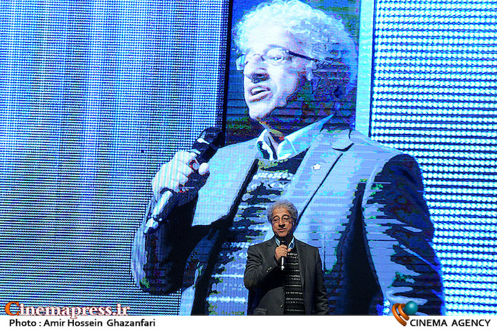 علیرضا خمسه در افتتاحیه چهارمین جشنواره بینالمللی فیلم یاس