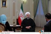 مصاحبه تلویزیونی روحانی