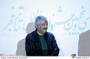 قباد شیوا در رونمایی از پوستر سی و پنجمین جشنواره تئاتر فجر