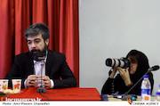 حامد عنقا در نشست مطبوعاتی سی و دومین جشنواره موسیقی فجر