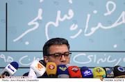 محمد حیدری در نشست خبری سی و پنجمین جشنواره فیلم فجر
