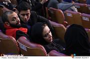پریناز ایزدیار و صابر ابر در افتتاحیه سی و پنجمین جشنواره فیلم فجر