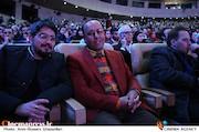 حبیب مجیدی و حمید غفاریان در افتتاحیه سی و پنجمین جشنواره فیلم فجر
