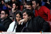 سامان سالور و سمیرا حسین پور در افتتاحیه سی و پنجمین جشنواره فیلم فجر