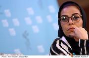 مهنوش صادقی در نشست خبری فیلم سینمایی«خانه دیگری»