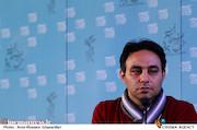 اصغر اطمینان در نشست خبری فیلم سینمایی«ائو»