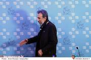 حسین شهابی در نشست خبری فیلم سینمایی آزادی به قید شرط